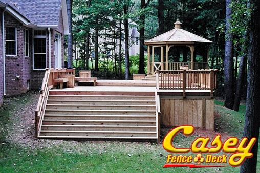Benches And Planter Boxes Casey Fence And Deck Llc