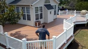 Deck Shows True Pride in Craftsmanship in Ijamsville Maryland