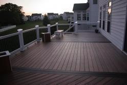 Multiple Pattern Fiberon IPE Deck