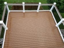 16x14 Composite Deck in Boonsboro MD