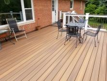 400 square foot deck in Woodsboro Maryland