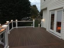400 Square Foot Fiberon Composite Deck in Damascus Maryland