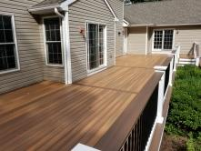 750 square foot Fiberon Ipe Composite Deck
