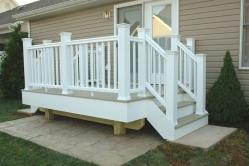 Azek Brownstone Deck in Middletown Maryland