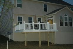 Azek PVC Deck in New Market Maryland