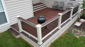Color Scheme Accents this Gorgeous Deck
