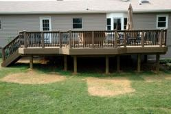 Evergrain Composite Deck in Boonsboro Maryland