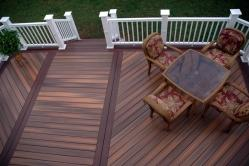 Fiberon IPE and Rosewood Deck in Frederick Maryland