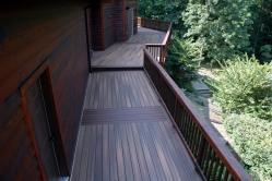 Fiberon Ipe with Rosewood Inlay Deck in Middletown Maryland