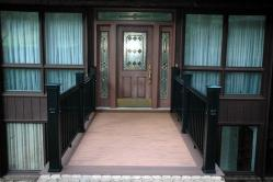Timber Tech Harvest Bronze Front Porch