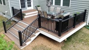 Timbertech Composite Deck with Hidden Fasteners