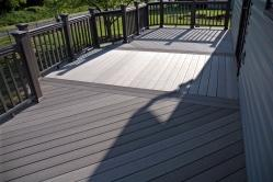 Timbertech Composite Deck with Thunderbird Pattern