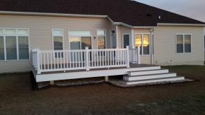 Timbertech Tigerwood Composite Deck in Middletown Maryland