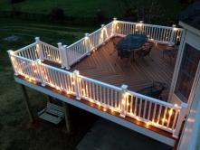 400 Square Foot Deck with Herringbone Basket Weave in Adamstown Maryland
