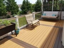 450 Square Foot Replacement Deck with Fiberon