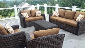 Beautiful Outdoor Living Space in Jefferson Maryland