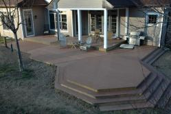 Evergrain Composite Deck with Elevated Octagon in Middletown Mryland