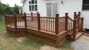 Fiberon IPE Diagonal Decking in Spring Ridge Frederick Maryland