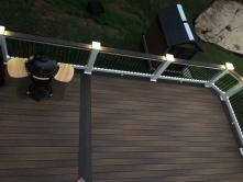 Lighting in Deck Railings