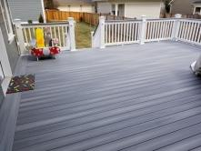 Low Level Fiberon Composite Castle Gray Deck in Frederick MD