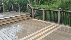 Reconstructed Deck in Columbia Maryland