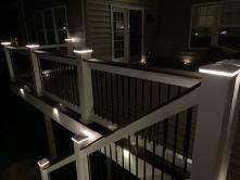 500 Square Foot Composite Deck in Woodridge Section of Lake Linganore