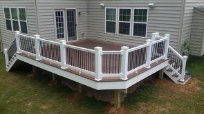 Mothers Day Surprise Deck in New Market Maryland