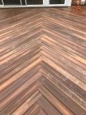 Beautiful Custom Herringbone Weave Pattern in Mount Airy