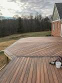 Mount Airy Deck During Construction