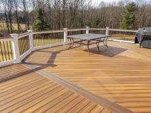 Mount Airy Maryland Fiberon Composite Ipe Deck