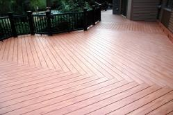 1000 Square Foot Timber Tech Composite Deck in Walkersville Maryland