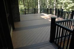 1000 Square Foot Timber Tech PVC Deck in Olney Maryland
