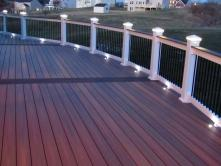 Circular Deck with Star Power Top View