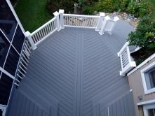 Multiple Pattern Decking with Matching Inlays in Middletown Maryland