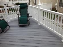 Unique Trapezoid Deck in Middletown Maryland