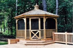 Screen Gazebo with Wrap Around Steps and More in Frederick MD