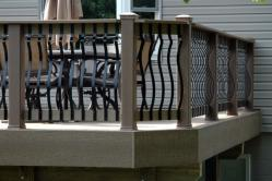 Custom Rails with Architectural Baroque Balusters