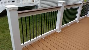 Fiberon Good Life Villa Decking with Chestnut Border in Brunswick Maryland