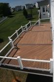 640 Square Foot Composite Deck in Hagerstown Maryland