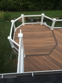 Composite Fiberon IPE Deck in Brunswick Maryland