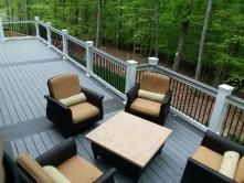 Cottage Gray Composite Deck