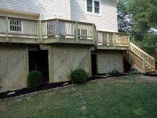 Multi Level Treated Deck in Germantown Maryland