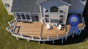 Award Winning Deck in Hagerstown Maryland