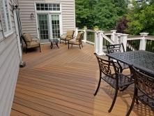Herringbone Basket Weave Pattern on 560 sq ft deck